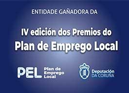 IV edición dos premios do plan de emprego local