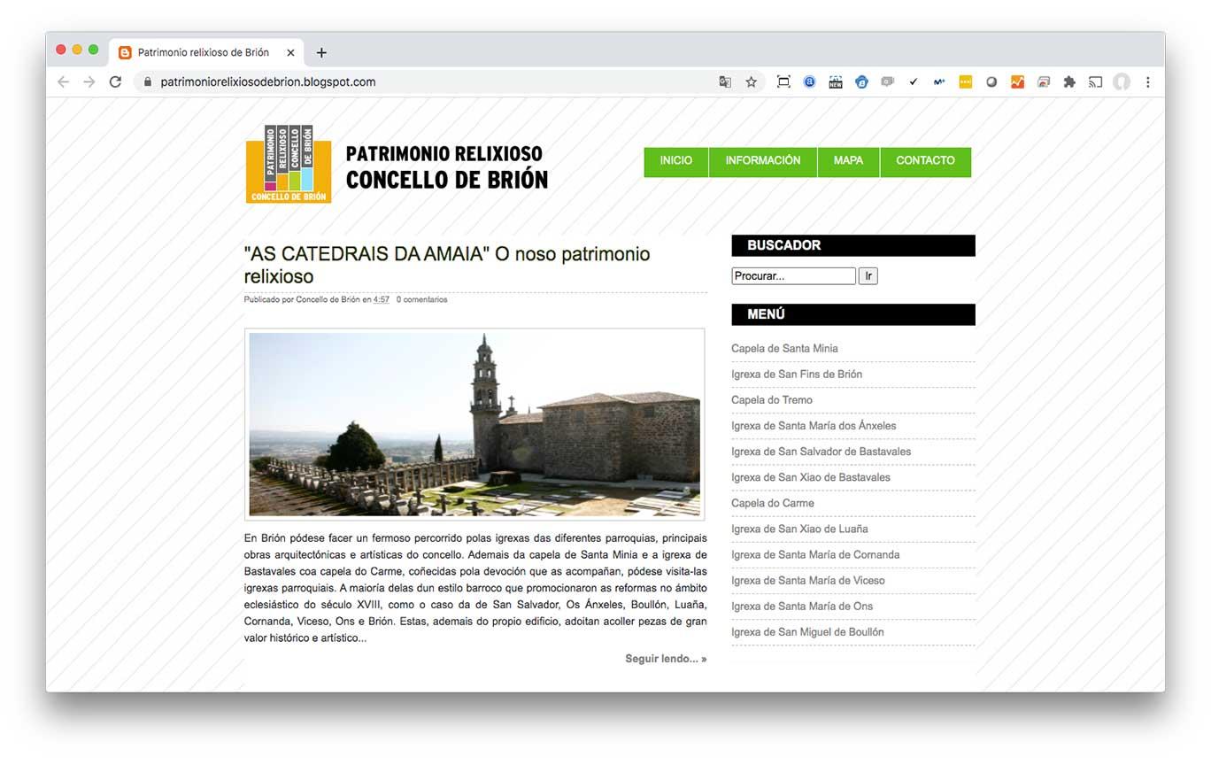 Patrimonio Relixioso de Brión